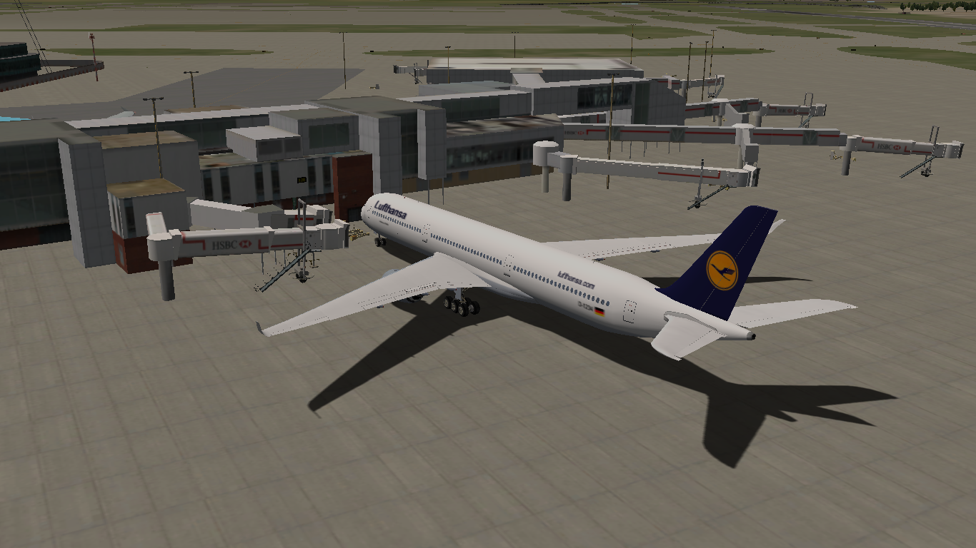 X-Plane: A350-1000 by riviere