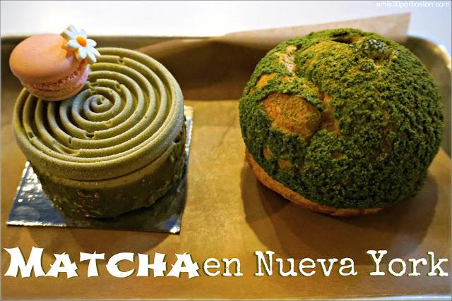 Cafeterías de Nueva York: Matcha