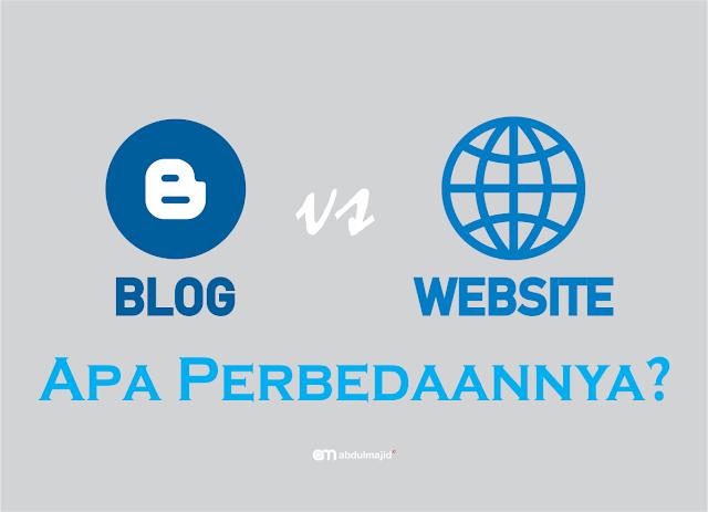 Apa Perbedaannya antara Blog dan Website
