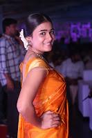Shalini Pandey in Beautiful Orange Saree Sleeveless Blouse Choli ~  Exclusive Celebrities Galleries 007.JPG