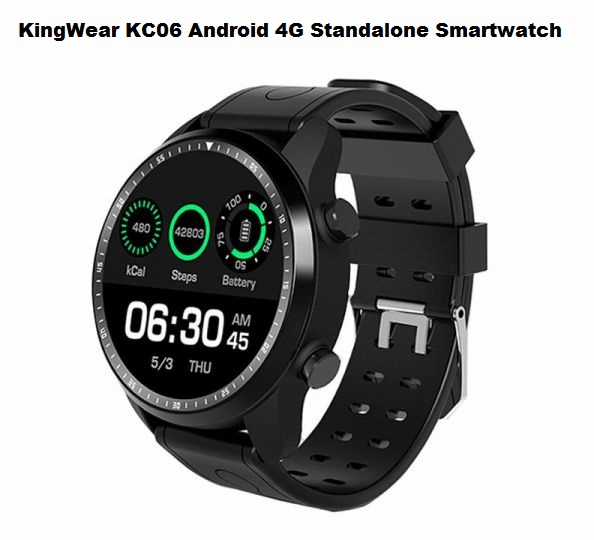KingWear KC06 Android 4G Standalone Smartwatch