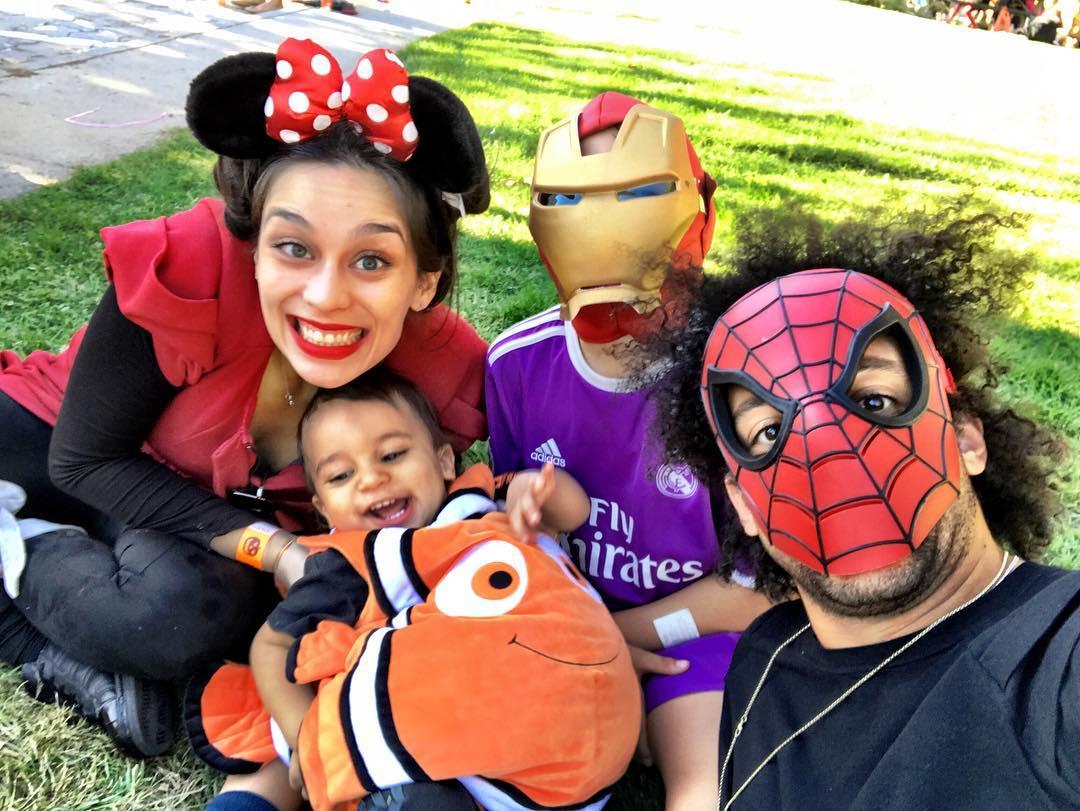 Marcelo dan keluarga