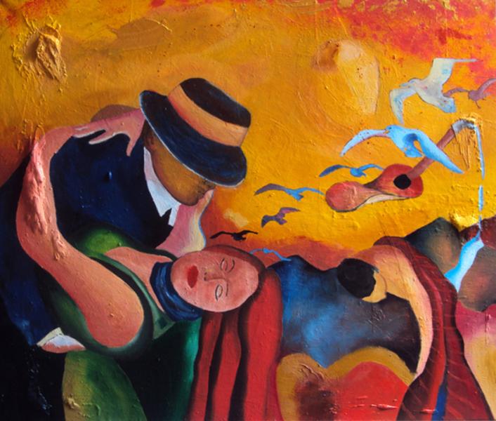 A Dança - Bruno Netto e suas pinturas ~ Pintor português