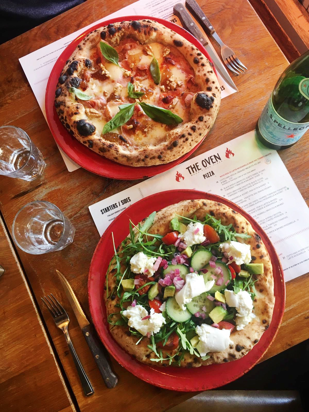 Pizza At The Oven Pizzeria Bath Bath Eats Where To Eat