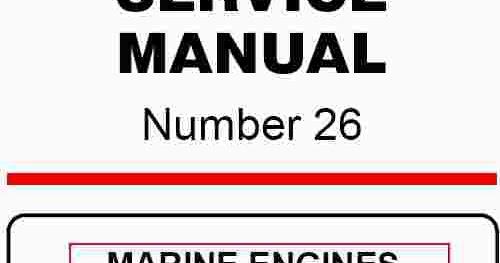 Mercruiser Gm 4 Cylinder 181 Cid  3 0l  Service Manual