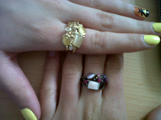 H&M twin rings