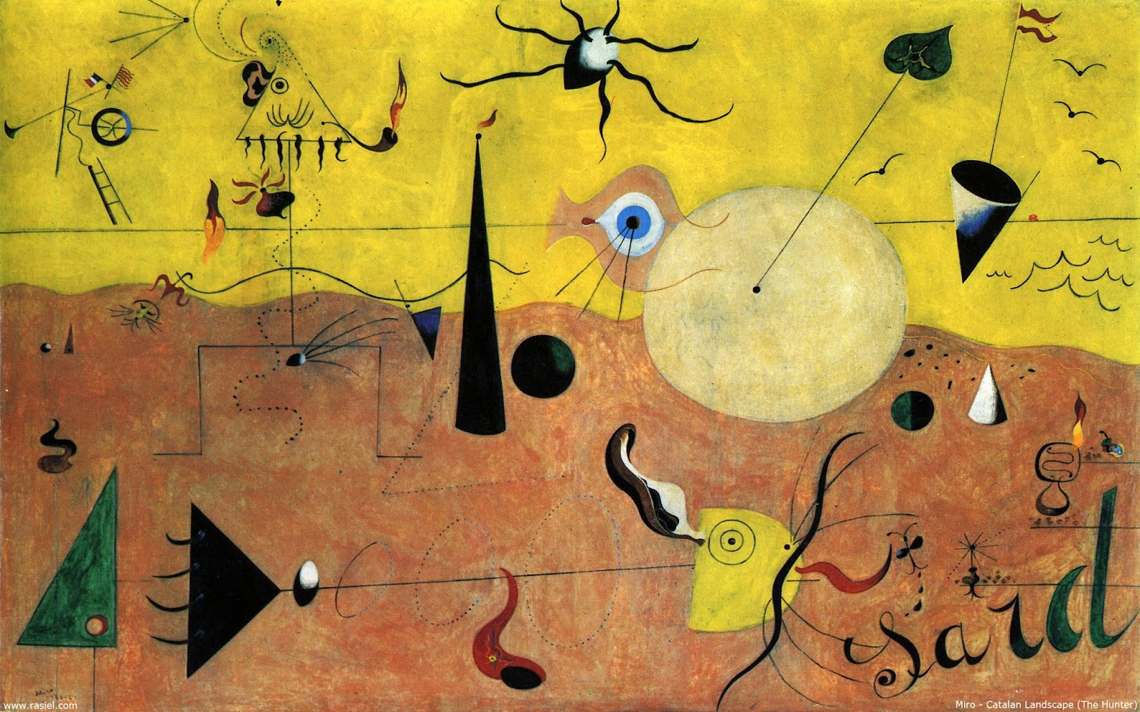 Joan Miró - papel de parede 2560x1600