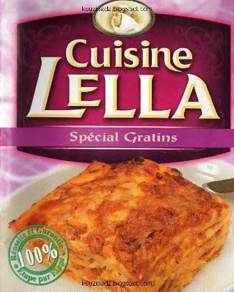 COLLECTION LIVRES DE CUISINE LELLA