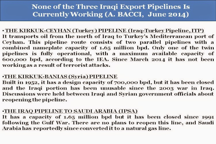 BACCI-None-of-the-Three-Iraqi-Export-Pipelines-Is-Currently-Working-June-2014