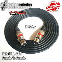 Kabel Mic XLR 2 meter Female To Female canon canare