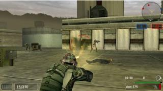 SOCOM U.S. Navy SEALs Fireteam Bravo 2 PSP PPSSPP