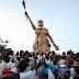 """IN PICTURES: Ooni of Ife unveils """"Moremi Ajasoro"""", tallest statue in Nigeria"""