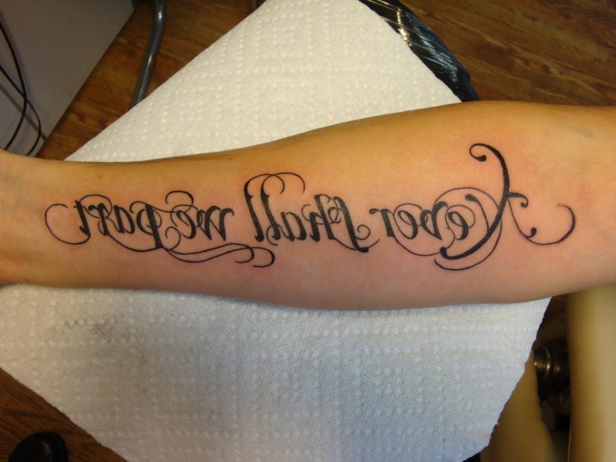 Tatuajes Letras Cursivas