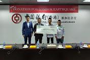 Bank of China Cabang Jakarta Serahkan Donasi RP100 Juta Untuk  Gempa Lombok