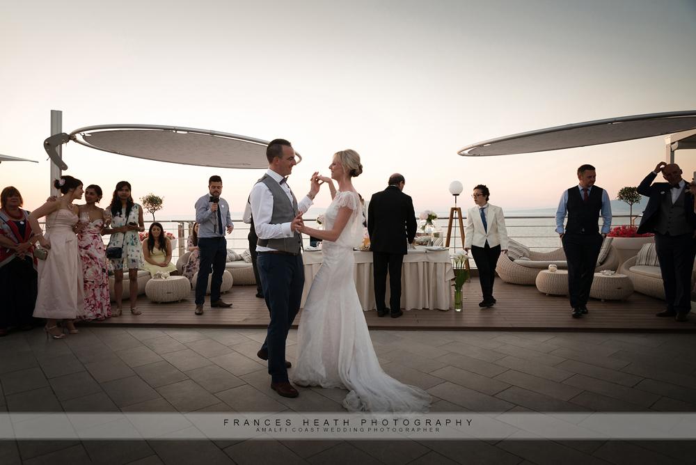 First dance hotel Mediterraneo