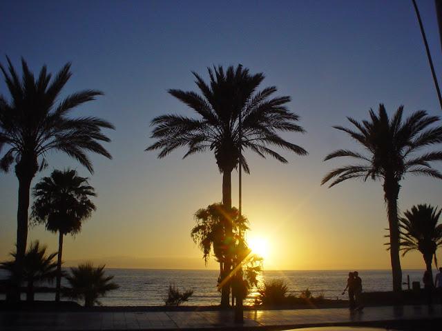 Sunset at Tenerife