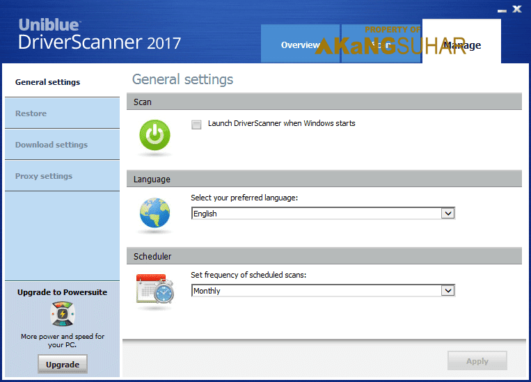 Download Uniblue DriverScanner 2017 4 Full crack Terbaru