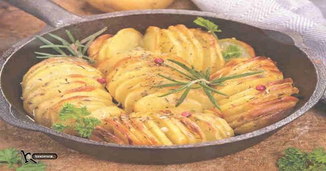 Patata Laminada al horno