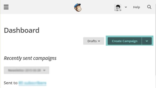 Newsletter automatique RSS des articles Blogger avec Mailchimp