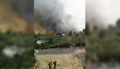 Foto kebakaran hebat