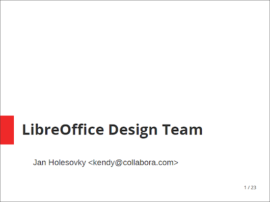 LibreOffice Design Team