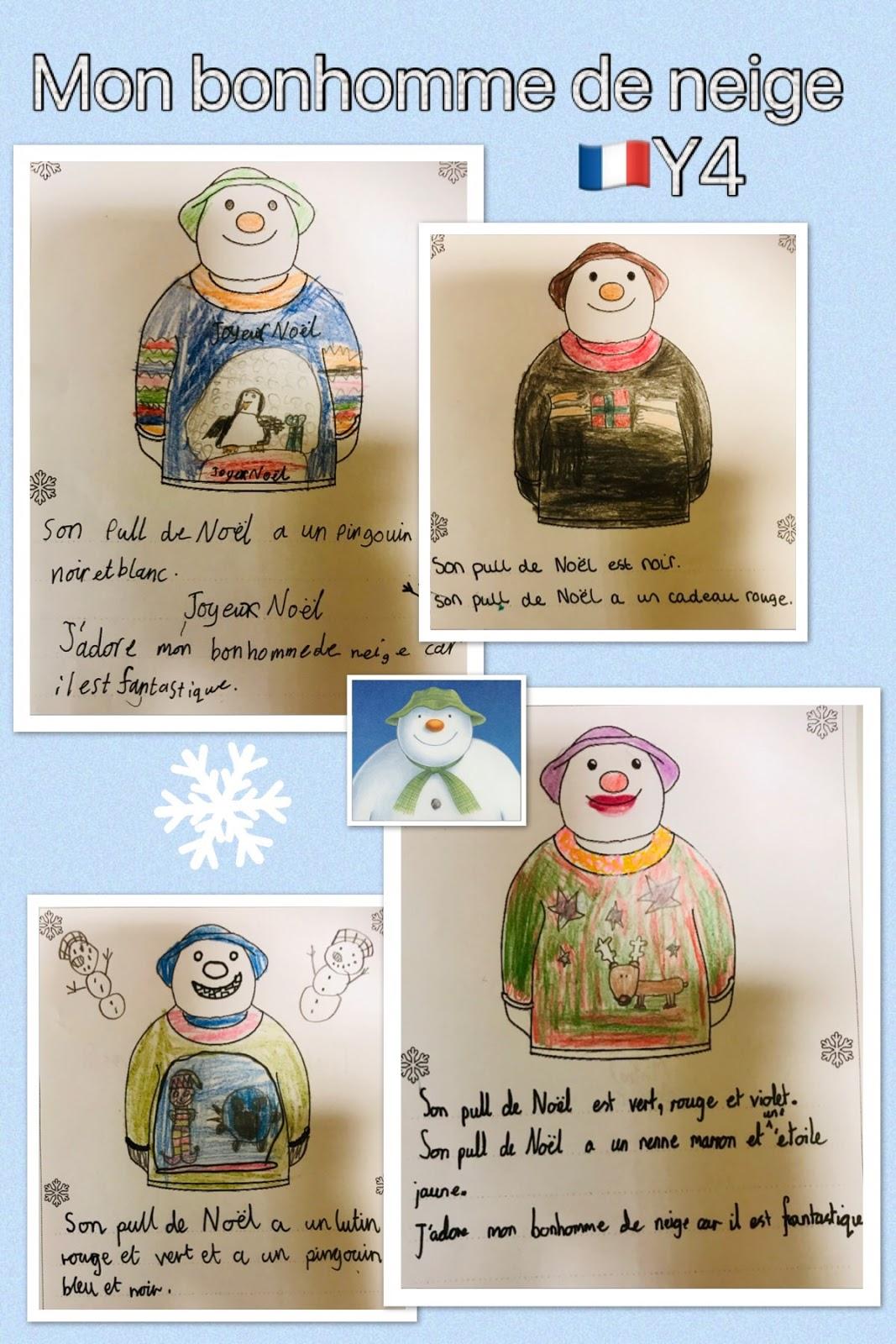 Le Blog De Madame Birtwistle Un Pull De Noël