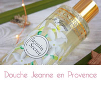 Douche  jasmin secret Jeanne en Provence