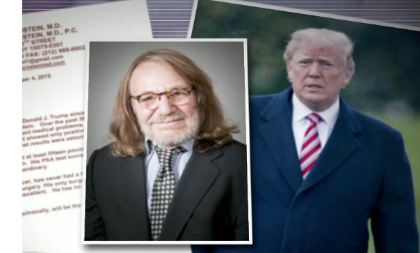 Former Trump doctor alleges that president's medical records were seized in raid