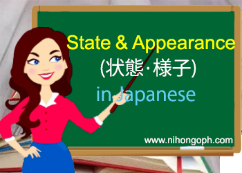 State and Appearance Vocabulary in Japanese