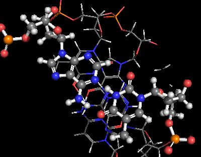 Chemical Quantum Images: DNA base pairing