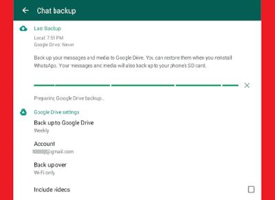 النسخ الاحتياطي واستعادة سجل دردشة Whatsapp