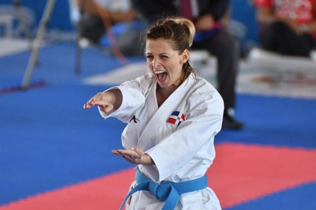 Karateca María Dimitrova