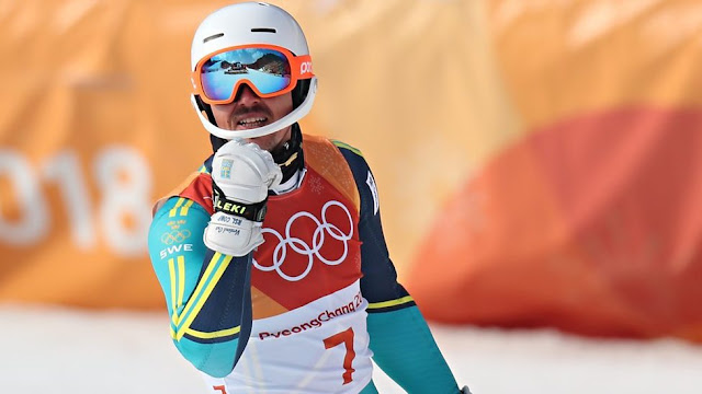 Andre Myhrer Wins Gold in Men s Slalom