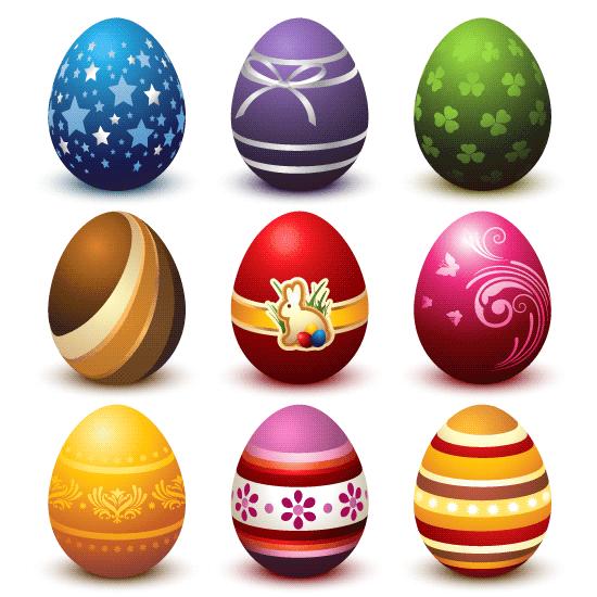 Huevos de Pascua colección 1
