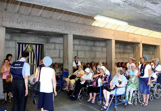 Piscinas de Lourdes, setor feminino