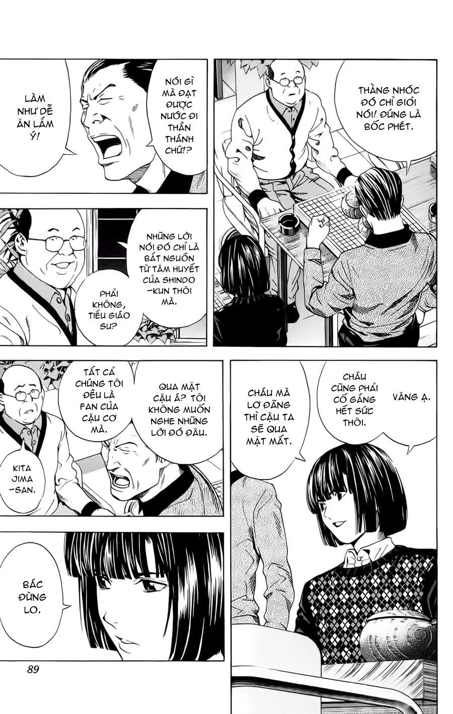 Hikaru No Go hikaru no go chap 152 trang 7