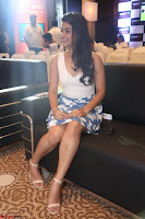 Yamini in Short Mini Skirt and Crop Sleeveless White Top 098.JPG