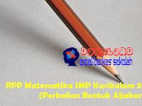 RPP Matematika SMP Kurikulum 2013 Revisi (Perkalian Bentuk Aljabar)