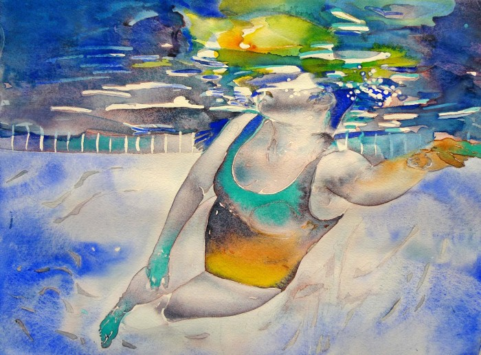 Carol Carter. Яркие акварели 19
