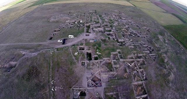 Bronze Age town being unearthed in Turkey's Eskişehir
