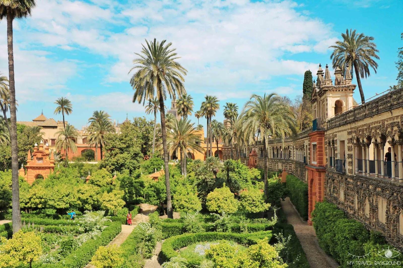 My Travel Background : mon road trip de 10 jours en Andalousie, Espagne : itinéraire et infos pratiques - Alcazar de Seville