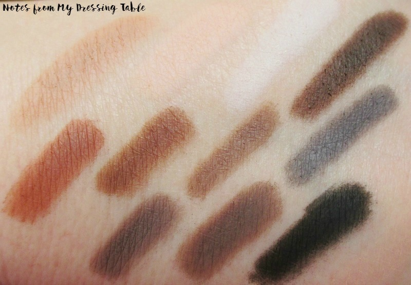 Viseart Neutral Matte Eye Shadow Palette Review Swatches