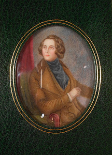 portrait of young Dickens