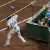 Yasiel Puig spikes glove after missing foul popup (Video)