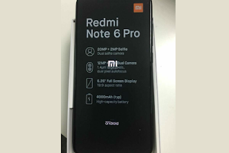 Xiaomi Redmi Note 6 Pro Leaked Image Revealed its Features