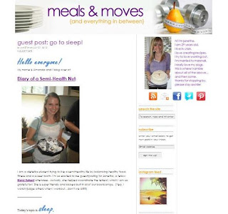 go to sleep for janetha at meals and moves blog