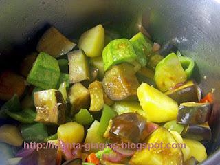 Λαχανικά τουρλού - από «Τα φαγητά της γιαγιάς»