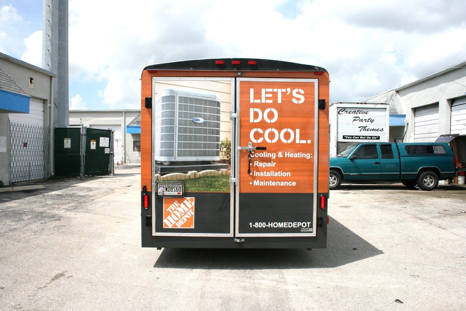 Small Business Trailer Wrap Advertising Miami Florida