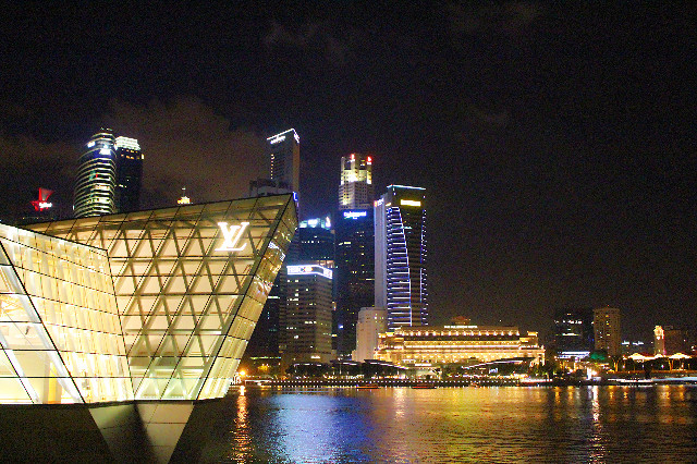 the shoppes marina bay singapura