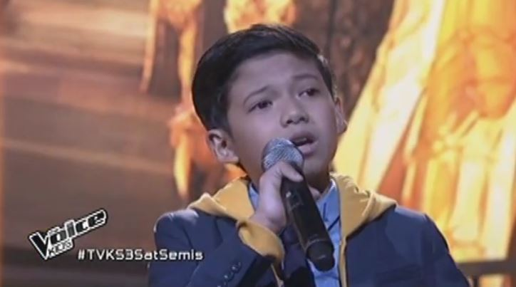 """Justin Alva sings """"Open Arms"""" on Voice Kids Philippines Live Semi-Finals"""